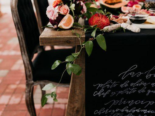 Unadorned Styled Shoot, Hotel Madrid
