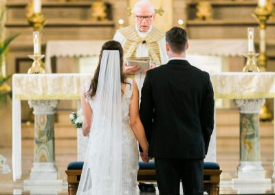 Beautiful Basilica of St. Josaphat wedding