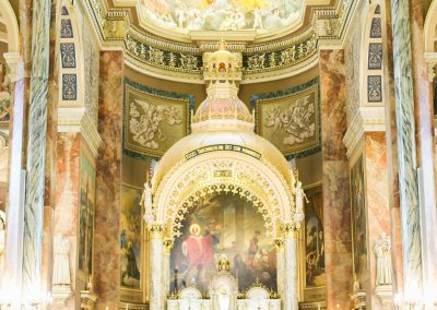 Wedding at Basilica of St. Josaphat